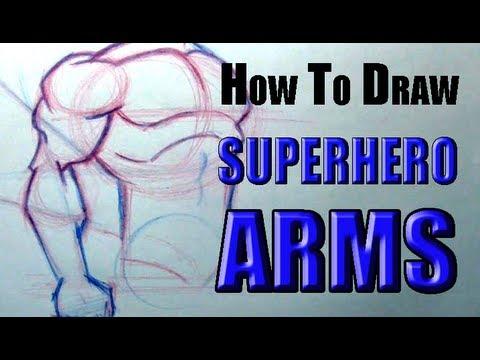 How To Draw Superhero Arms