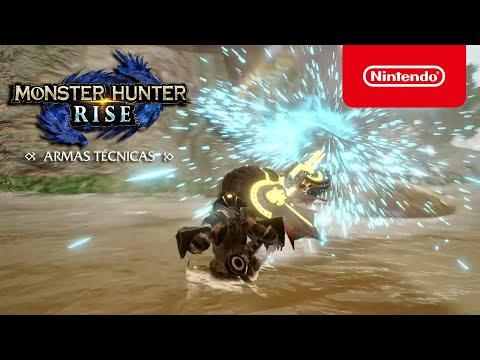 MONSTER HUNTER RISE – Armas técnicas (Nintendo Switch)