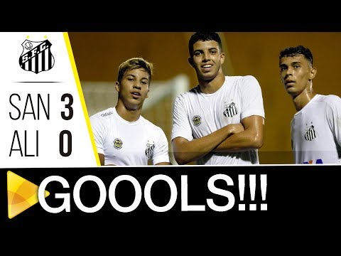 Santos 3 x 0 Aliança | GOLS | Copa SP (05/01/18)