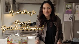 Ayesha Curry's Fleischmann's Simply Homemade Pineapple Upside Down Cornbread Recipe!