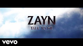 ZAYN Talk To Me (Audio)