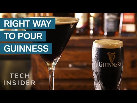 You've Been Pouring Guinness All Wrong