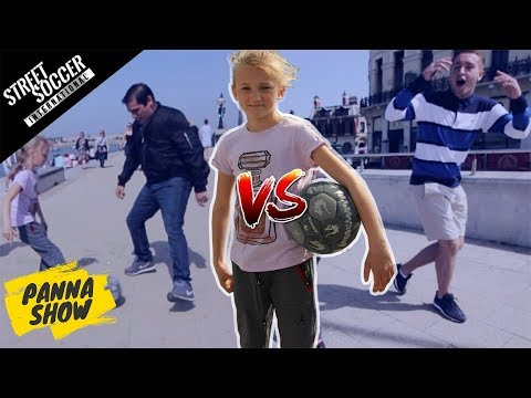 CAN 10-YEAR-OLD ANNA NUTMEG MARGATE? | PANNA SHOW | Street Soccer International