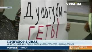 Суд оставил в силе приговор киевлянину живодеру