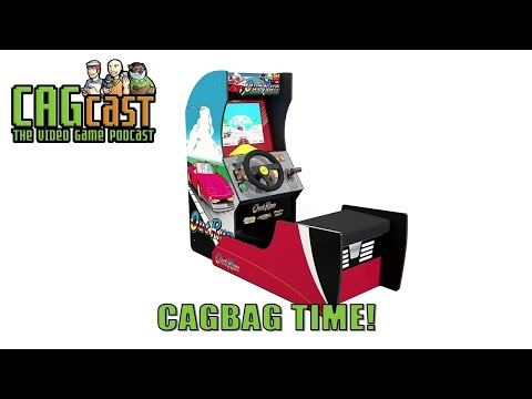 Outrun Arcade1UP cabinet and new rhythm game Fuser | CAGcast 659 from CAGcast