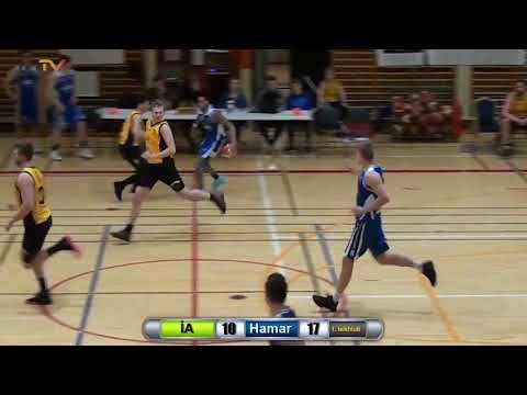 Larry Thomas Basketball- Hamar (Iceland) Highlights