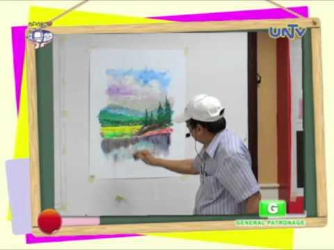 Summer Class – Landscape Water Color Painting (Part 3)