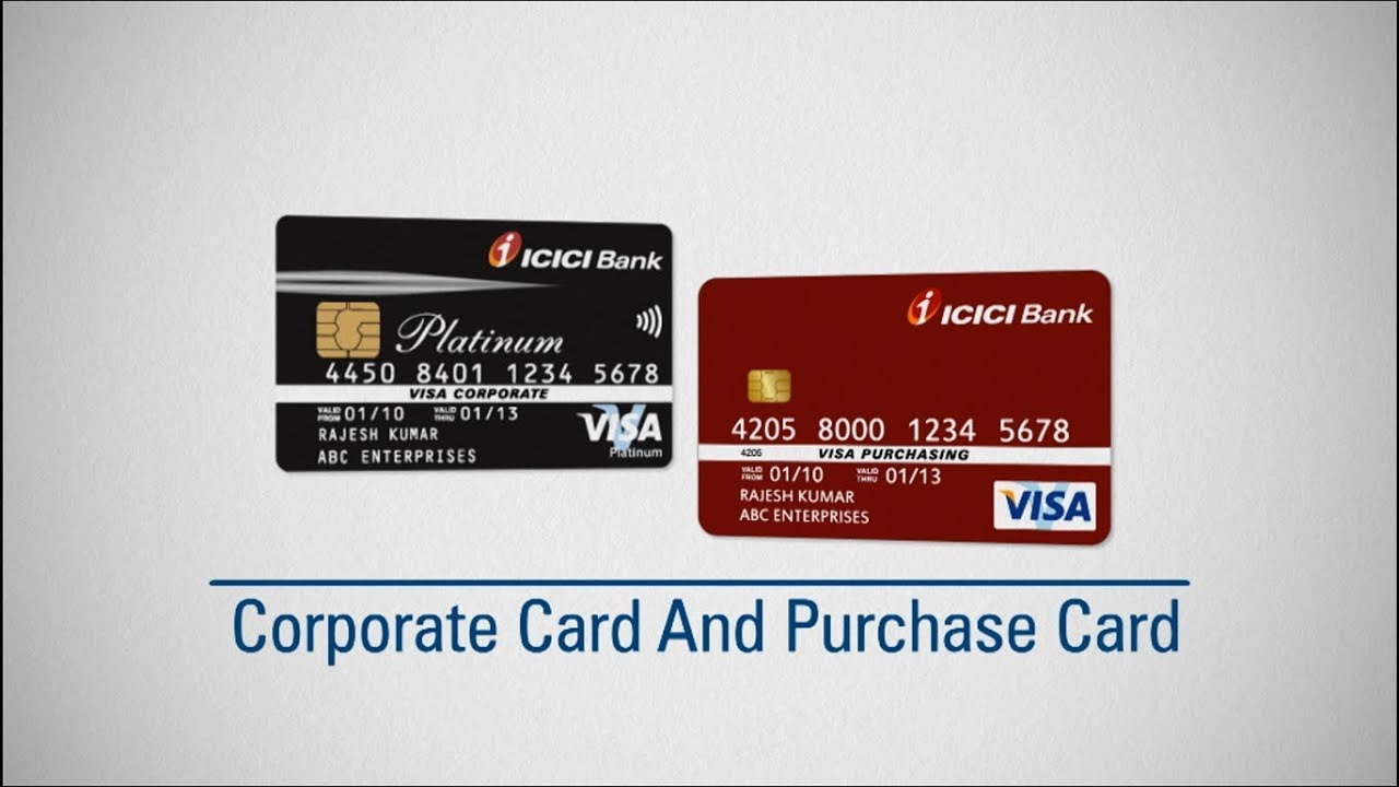 corporate payment solutions by icici bank - Visa Corporate Card