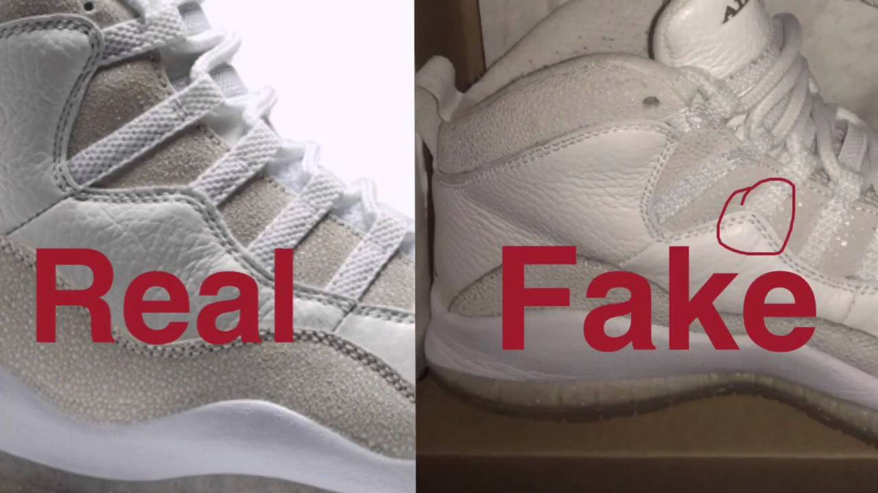 Real Vs Fake Retro 12: Ovo 10 REAL VS FAKE... How To Tell The Difference!