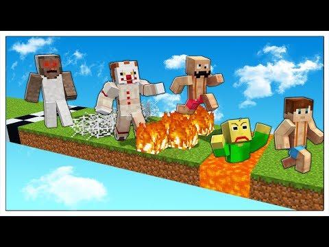 LA CORSA DELLE TRAPPOLE DEI SUPERCATTIVI! - Minecraft ITA