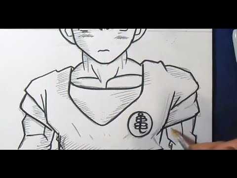 Comment dessiner krilin dragon ball z youtube - Dessin facile de dragon ...