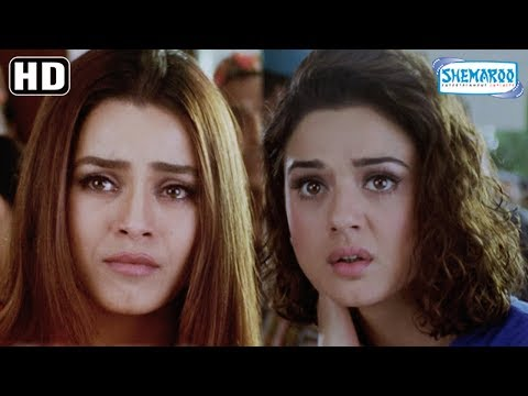 Preity Zinta saves Rekha scene from Dil Hai Tumhara - Arjun Rampal - Mahima Chaudhry - Hindi Movie thumbnail