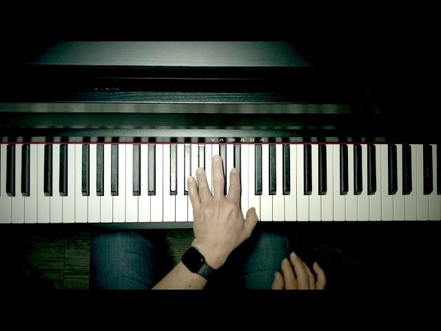 Abends in der Musikschule... Klavierspielerei Nr. 1