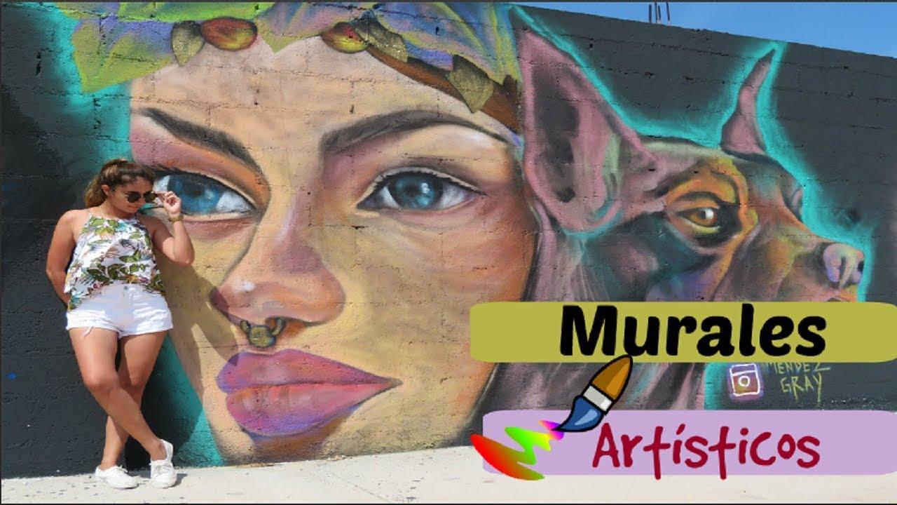 Murales Artisticos En Cancun Para Tomarse Fotos Arte Urbano Youtube