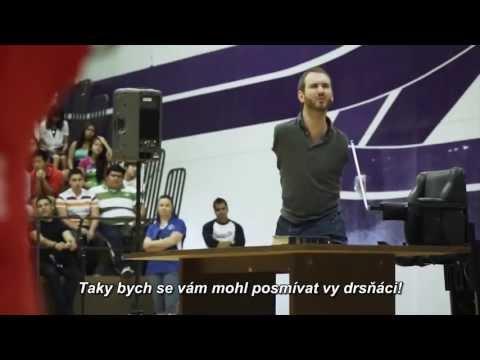 Nick Vujicic - Love Without Limits - O šikaně (Bully Talk) - CZ titulky