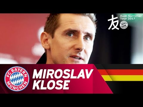 Miro Klose Joins FC Bayern's Asian Adventure | Audi Summer Tour 2017