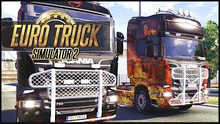 Euro Truck Simulator 2 MP w/ DaSquirrelsNuts - UK to PL - Part 2