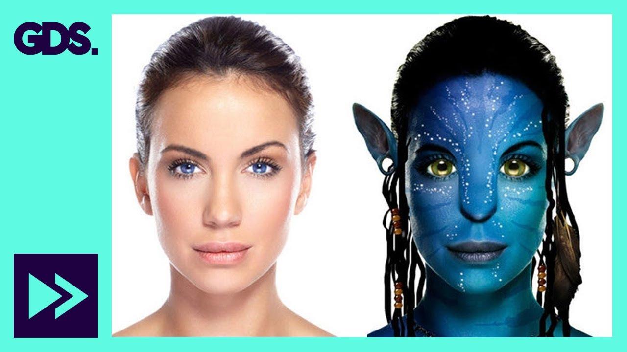 Navi avatar photo transformation in adobe photoshop youtube baditri Images