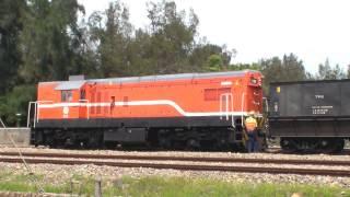 臺電貨列① 龍井站出發 EMD G12 w/Coal Freight Train