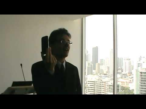 Tom Vassos Press Briefing in Panama - DESTINATION INNOVATION - Mobile Social Business