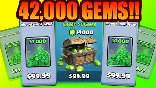 Clash Of Clans | 42,000 GEM GIVEAWAY!! FACECAM! 500,000 SUBSCRIBERS!!!!!!!!!!!!!!!!!!! & FACE CAM!
