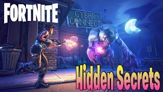 FORTNITE - TUTORIAL SECRET CHEST, ROCKET LAUNCHER & MORE!