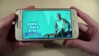 игры Samsung Galaxy Grand Prime (GTA:SanAndreas, RealRacing3, DeadTrigger2)
