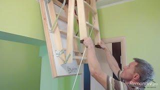 Как сделать лестницу на чердак своими руками(Узнай, как сделать качественный ремонт в квартире и сэкономить при этом более 100 000 руб.: http://lessons-free.ru/remontkurs..., 2015-08-24T17:00:00.000Z)