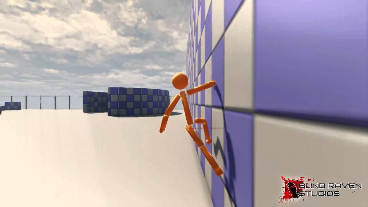 UDK Movement Test - Sticky 04 Sliding & Wall Running fix