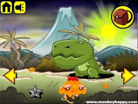 Мультик игра Счастливая обезьянка: Уровень 11 (Monkey Go Happly Stage 11)