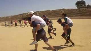 Reviving chariot racing in Caesarea