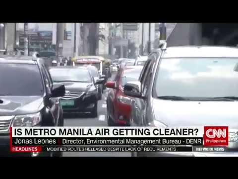 Is Metro Manila air getting cleaner?