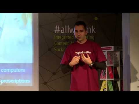 Vladimir Vulic (@vulicvladimir) at AllWeb Conference, Skopje Macedonia