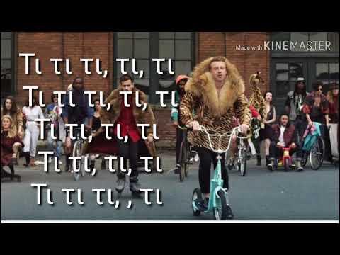 Macklemore & Ryan Lewis-Trhift Shop Greek Lyrics Ft. Wanz