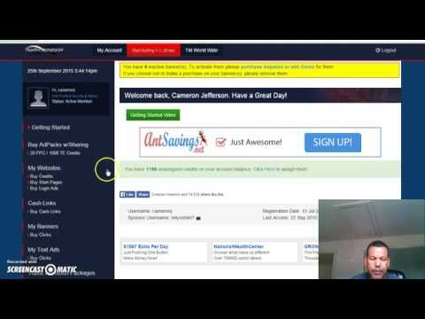 Traffic Monsoon How to get referrals