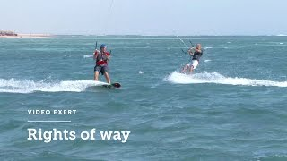 Kiteboarding Rights of Way