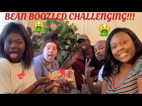 Bean Boozled Challenge ! Chas throws up TWICE !!