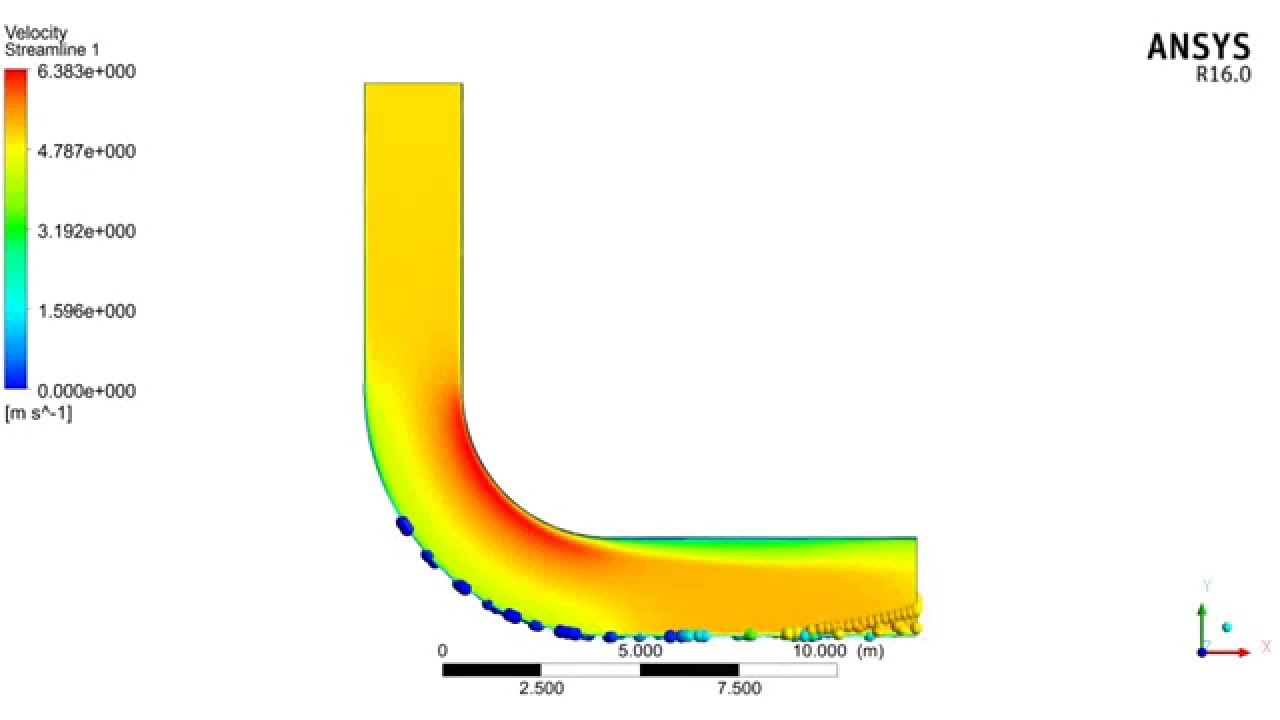 Water vapour flow in Pipe in Ansys Fluent - YouTube