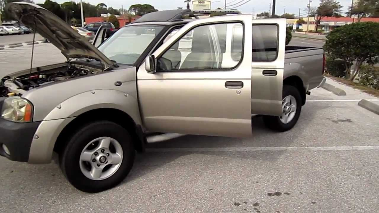 Sold 2001 nissan frontier se crew cab v6 meticulous motors inc florida for sale look youtube