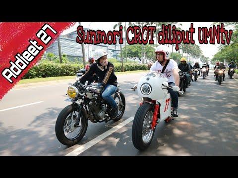 Sunmori Cafe racer owners tangerang diliput UMNtv