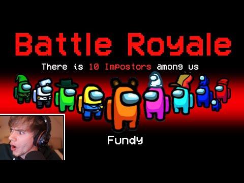 So I turned Among Us into a Battle Royale...