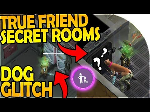 TRUE FRIEND *SECRET* BUNKER ROOMS + DOORS! - DOG GLITCH - Last Day On Earth Survival 1.7.12 Update