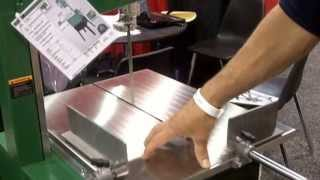 The Rikon Meat Saw With Grinder & Sliding Table, Presented By Woodcraft