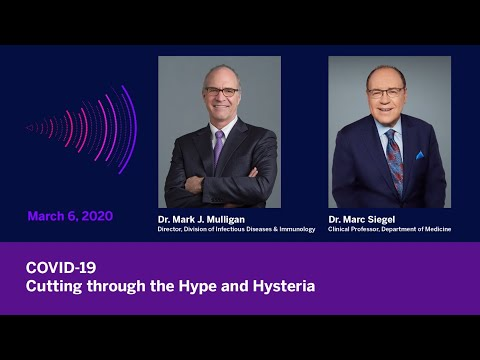 COVID-19: Cutting Through the Hype and Hysteria