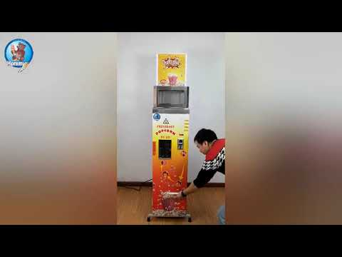 vending popcorn machine with CE certification