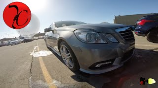 Mercedes E550 2011 ||| Tips on buying one
