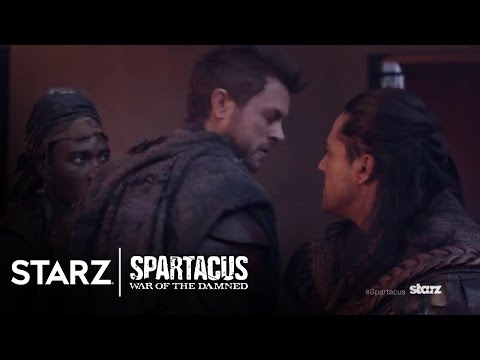 Spartacus | Closer Look At Agron | STARZ