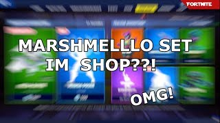 Marshmello Skin and Glider in the shop ? | Fortnite DAILY SHOP (1.2) | SHEZLetsPlay 🛒