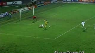 18 чемпионат Украины Металлист 2 1 Заря 43 минута Фомин 2 0