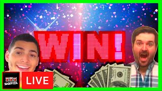 High Limit Group LIVE! WINNING at the Casino W/ Nate and SDGuy!